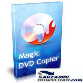 دانلود نرم افزار کپی DVD با محیط ساده و راحت - Magic DVD Copier 6.0.0 Final - دانلود رایگان