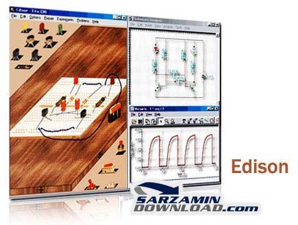 دانلود نرم افزار طراحی مدار الکترونیکی - Edison 4.0 - دانلود رایگان