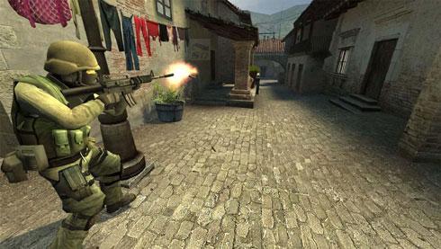 بازی کانتر (نسخه جدید مخصوص شبکه های Lan و گیم نت و انلاین) - Counter Strike Source v.34