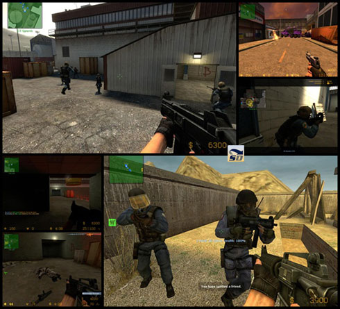 how to create wireless lan for counter strike