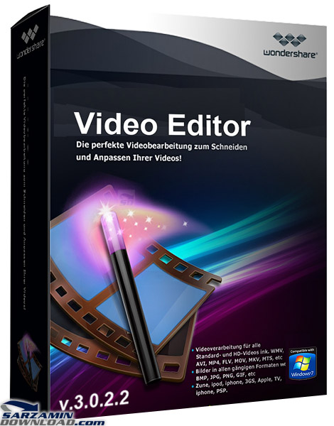 Wondershare Video Editor is an easy to use powerful software that enables you to edit video files. It is equipped with a large number of effects and transitions to help you create a professional-­‐looking home movie in minutes!