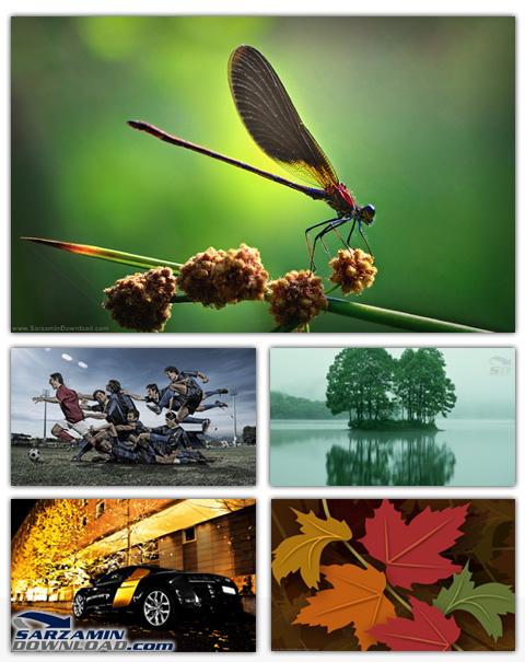 مجموعه تصاویر متنوع HD برای بک گراند ویندوز HD Wallpapers Big Pack