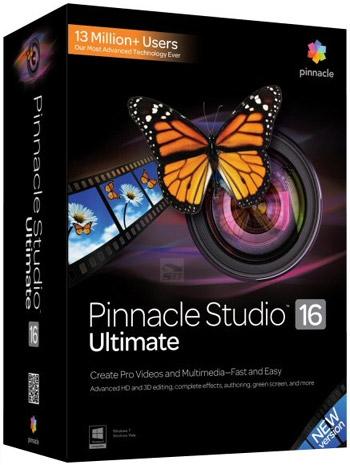 دانلود نرم افزار حرفه ای تدوین فیلم - Pinnacle Studio Ultimate 16