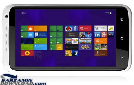 دانلود تم ویندوز 8 برای اندروید - Windows 8 for Androidمیخواهید دوستان و اطرافیان خود را شگفت زده کنید ؟ قالب ویندوز 8 را بر روی  گوشی اندرویدی خود نصب کنید !