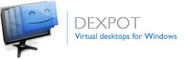 نرم افزار ایجاد چند دسکتاپ همزمان در ویندوز - Dexpot 1.6