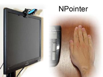 نرم افزار استفاده از دست به جای ماوس - NPointer 1