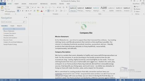 دانلود راهنمای ورد 2013