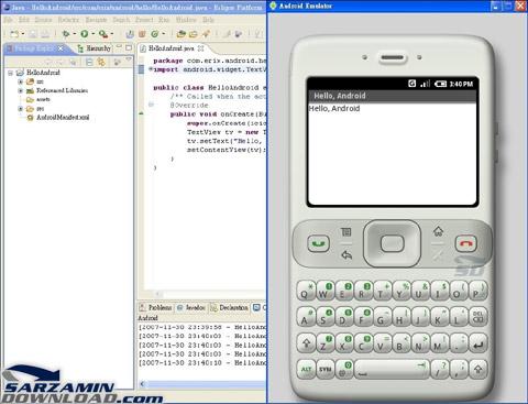 دانلود محیط توسعه و برنامه نویسی اندروید - Android SDK - دانلود رایگاناین محیط شامل مجموعه ای از کدها و توابع آماده نیز میباشد تا کار شما برای برای برنامه نویسی اندروید ساده تر کند.