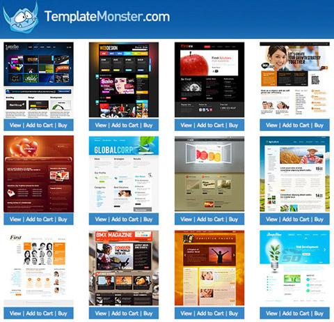 template monster web templates