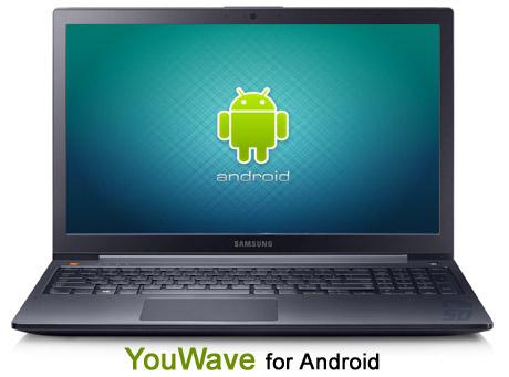 دانلود نرم افزار اجرای برنامه ها و بازی های اندرویدی در ویندوز  YouWave for Android 4.1.2