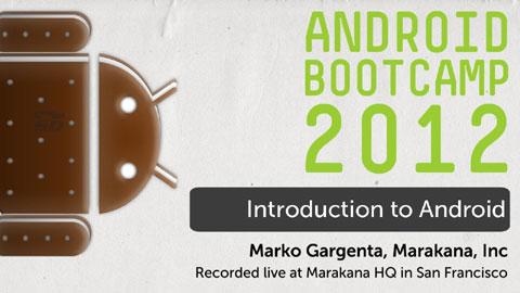 دانلود مجموعه کامل آموزش برنامه نویسی اندروید - Android Bootcamp ...امروزه سیستم عامل اندروید را میتوان در همه جا مشاهده کرد. این سیستم عامل از محدوده موبایل و تبلت ها خارج شده و بر روی بسیاری از لوازم الکترونیکی جدید قرار ...