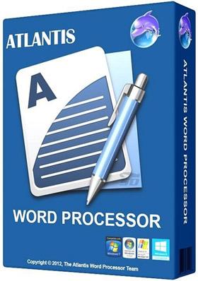 نرم افزار واژه پردازی و تایپ (شبیه Word) با حجم کم - Atlantis Word Processor 1.6