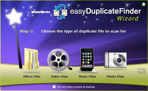نرم افزار پيدا كردن فايل های تكراری - Easy Duplicate Finder 4.4