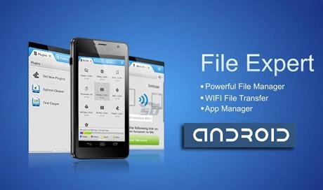 نرم افزار مدیریت فایل حرفه ای موبایل (برای اندروید) - File Expert with Clouds 8.3 Android