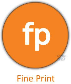 نرم افزار کاهش مصرف جوهر چاپگر - Fine Print 8