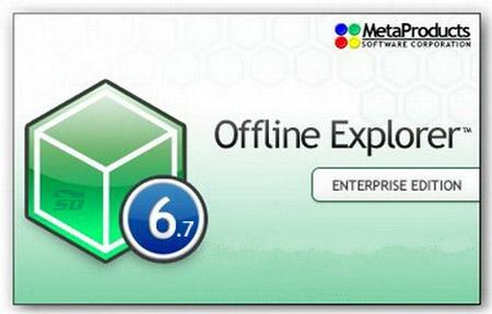 نرم افزار دانلود کامل یک سایت جهت مشاهده آفلاین - Offline Explorer Enterprise 6.7