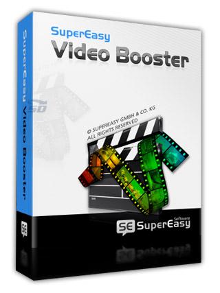 نرم افزار ویرایش ساده و تبدیل فرمت فیلم - SuperEasy Video Booster 1.1