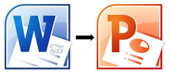 آموزش تبدیل فایل های Word به Powerpoint