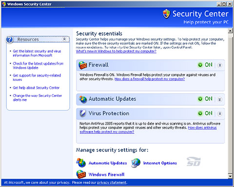 XP update آموزش فعال کردن Update ویندوز XP