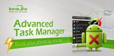 نرم افزار مدیریت برنامه های در حال اجرا (تسک منیجر) برای اندروید - Advanced Task Manager Pro 5.1 Android