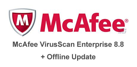 دانلود آنتی ویروس مکافی، به همراه آپدیت آفلاین - McAfee VirusScan Enterprise 8.8 + Offline Update