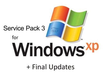 سرویس پک 3 ویندوز xp