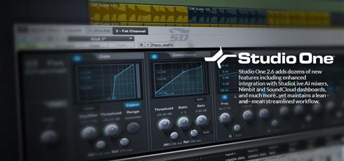 نرم افزار آهنگ سازی استودیو وان، به همراه مجموعه افکت