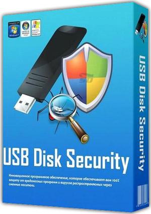 نرم افزار امنیت فلش مموری و هارد اکسترنال - USB Disk Security 6.4