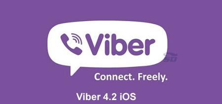 نسخه جدید وایبر برای آیفون - Viber 4.2 iOS