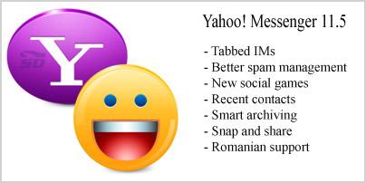 نسخه جدید یاهو مسنجر - Yahoo! Messenger 11.5