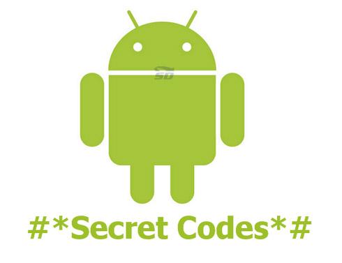 کد های مخفی برای تست موبایل های اندروید