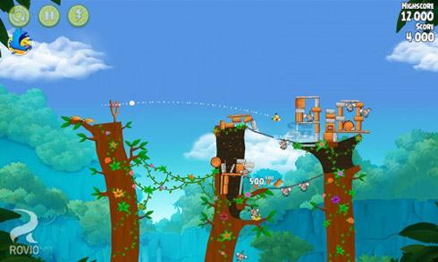 بازی پرندگان خشمگین، ریو (به همراه نسخه هک شده) برای اندروید - Angry Birds Rio 2.3 Android