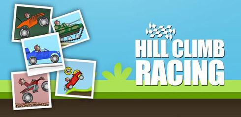 بازی مسابقات صعود به تپه (به همراه نسخه هک شده) - Hill Climb Racing 1.20.1 Android