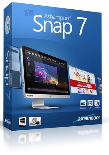 نرم افزار عکس برداری از صفحه نمایش - Ashampoo Snap 7