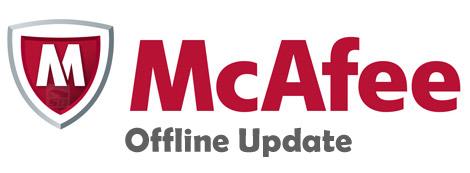 آپدیت آفلاین آنتی ویروس مکافی - McAfee VirusScan Offline Update 215-08-14