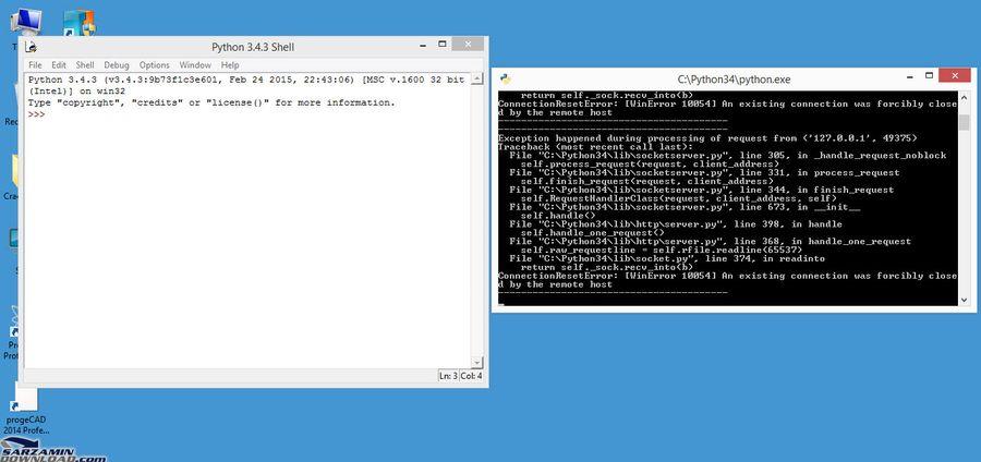 محیط برنامه نویسی به زبان پایتون - Python 3 ...