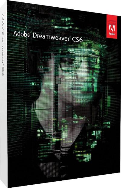 نرم افزار حرفه ای طراحی صفحات وب (برای مک) - Adobe Dreamweaver CS6 V12 Mac