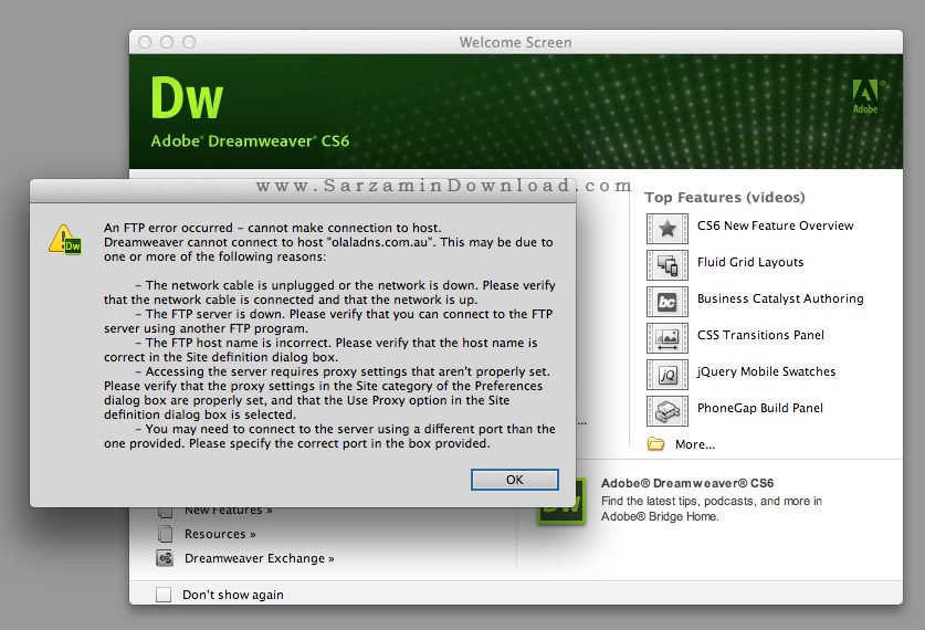 dreamweaver cs6 crack mac