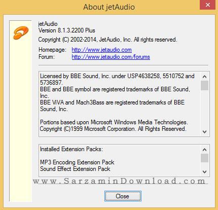 نرم افزار محبوب و حرفه ای جت آدیو - JetAudio 8.1 Plus