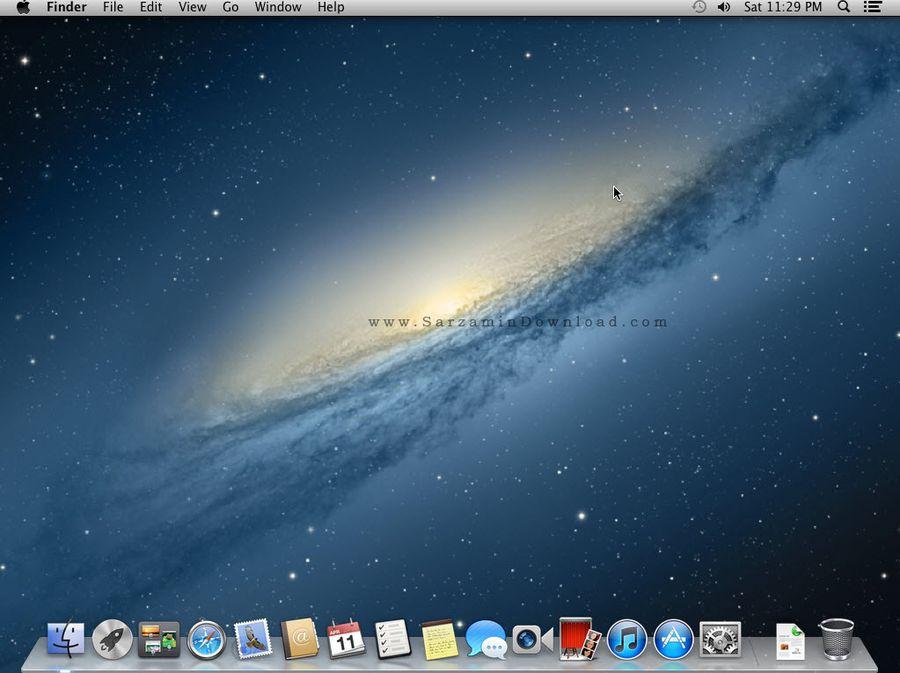 سیستم عامل مک برای نصب در شبیه ساز - Mac OS X Mountain Lion 10.8 for VMware