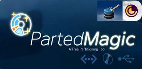 نرم افزار پارتیشن بندی و مدیریت دیسک سخت، به صورت CD بوتیبل - Parted Magic 2015