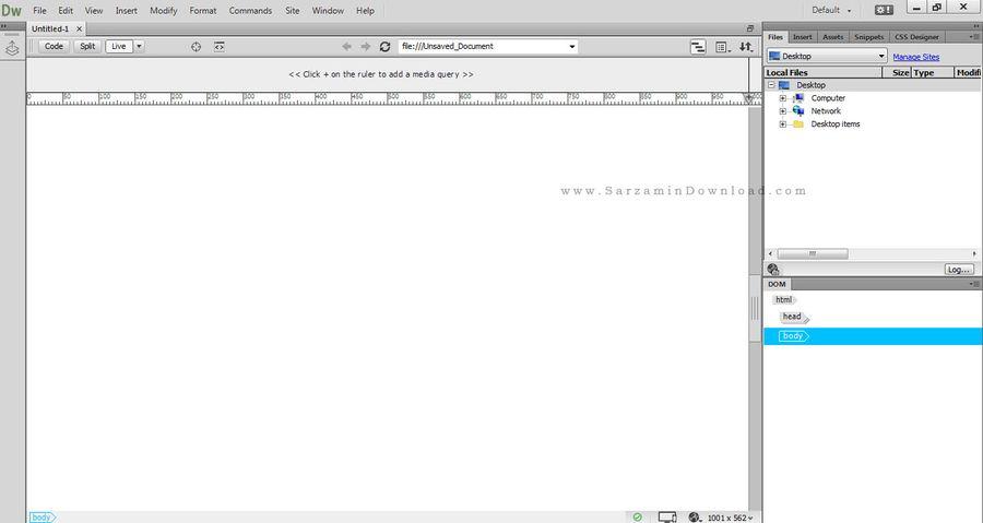 Adobe Dreamweaver CC 2015 16 1 0 طراحی وب سایت - 46