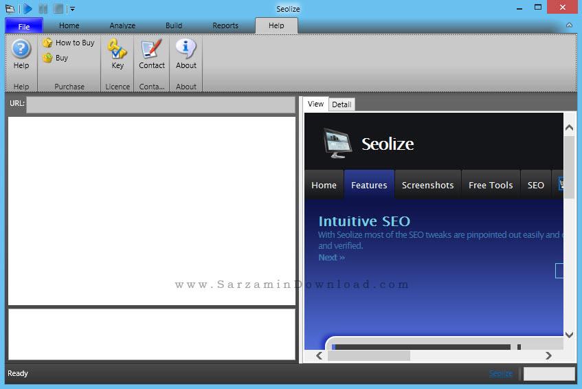 نرم افزار بررسی سئو سایت - Seolize 2.51