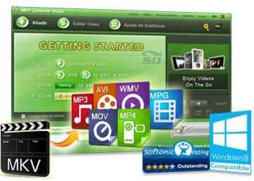 نرم افزار تبدیل فرمت MKV با کیفیت بالا - Apowersoft MKV Converter Studio 4.3.3