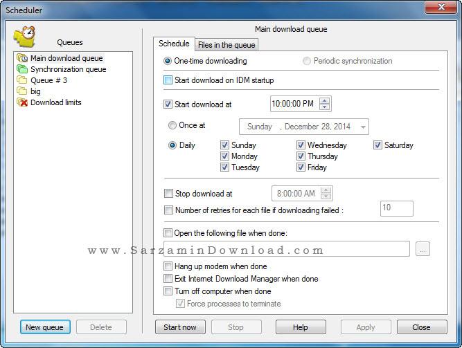 نسخه جدید نرم افزار اینترنت دانلود منیجر - Internet Download Manager 6.23 Build 17
