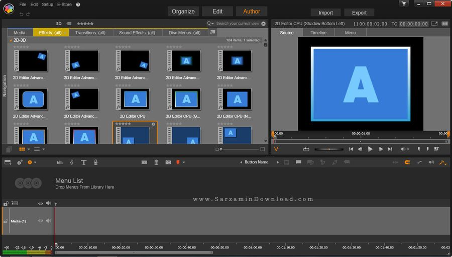 how to add transitions in pinnacle studio 18