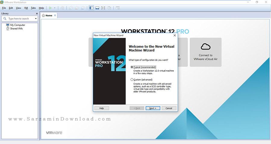 12 نصب سیستم عامل مجازی - موبایل