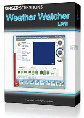 نرم افزار آب و هوا برای کامپیوتر - Weather Watcher Live 7.2.56