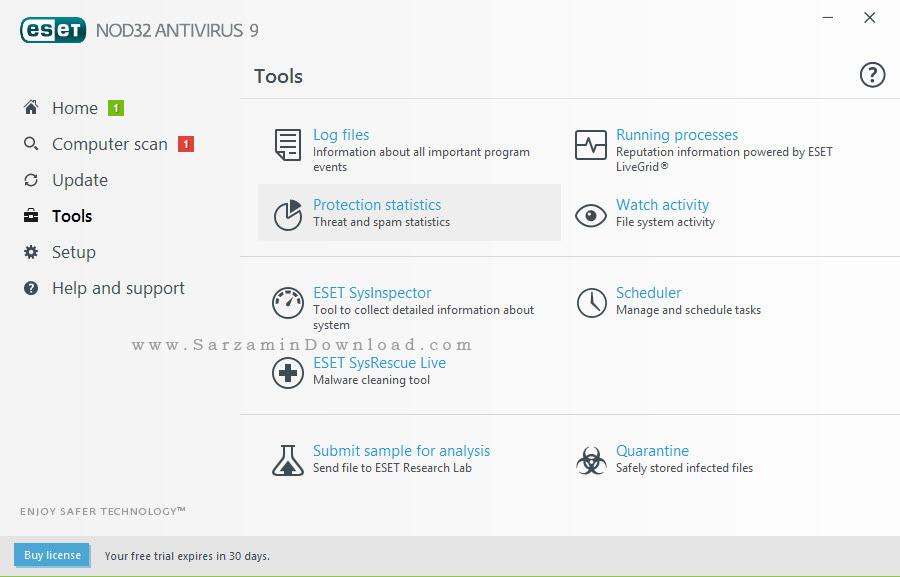 آنتی ویروس نود 32 - ESET NOD32 Antivirus 9.0.386