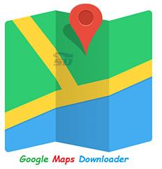 نرم افزار گوگل مپ برای کامپیوتر - Google Maps Downloader 7.631